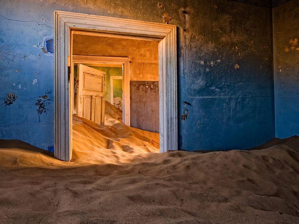 Kolmanskope Namibijoje
