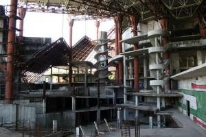Apleistas vandens pramogų parkas Rusijoje