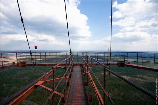 Apleistas radio bokštas Rusijoje