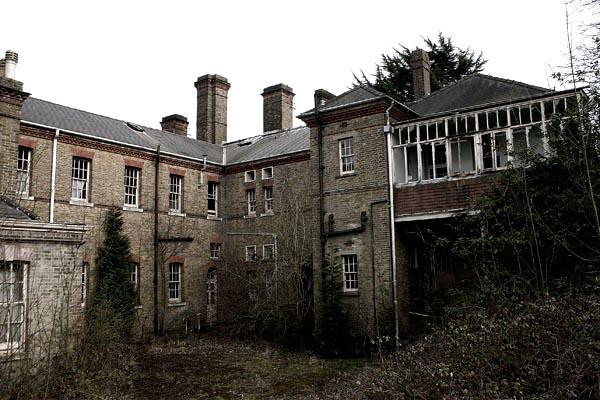Apleista Londono ligoninė
