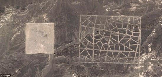 Paslaptingos struktūros dykumoje