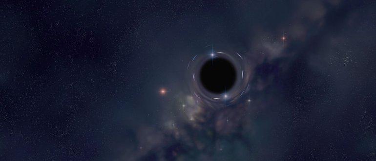 Aptiktos gigantškos juodosios skylės