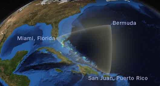 Bermudų trikampio paslaptį atskleis palydovasnuotraukos