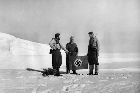 Ledynų pabaisa atrasta Vokiečių