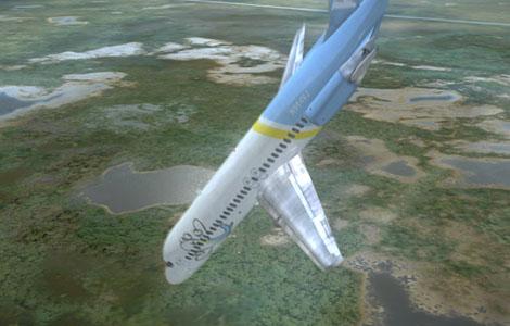 Išsigelbėję po lėktuvų katastrofų