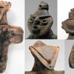 Dogų statulėlių mįslė
