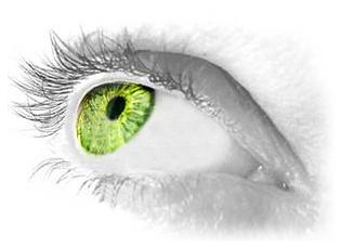Burtai pakeisti akių spalvai