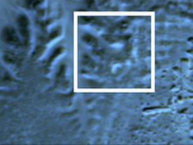 Piramidės aptiktos iš kosmoso
