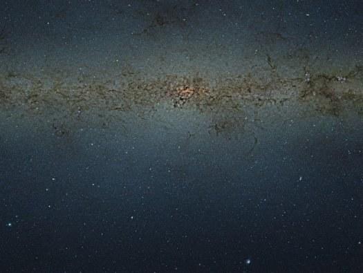 Didžiausia Paukščių Tako nuotrauka
