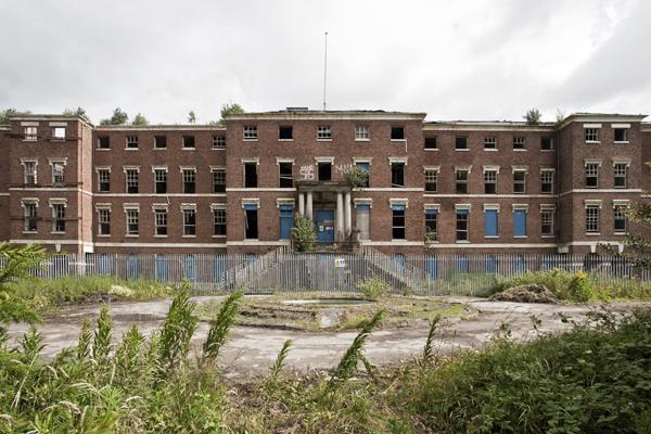 Apleista Stafordžyro ligoninė