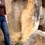 Gigantiškas pėdos antspaudas Pietų Afrikoje