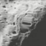 Paslaptinga struktūra nematomoje Mėnulio pusėje