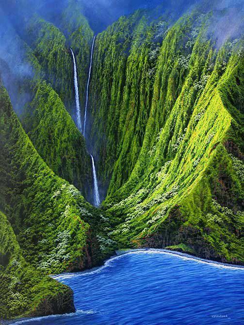 Moaula krioklys Havajuose