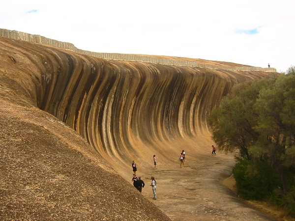 bangos uola australijoje