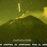 Užfiksuotas cigaro formos NSO kuris įskrenda į veikiančio vulkano kraterį