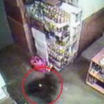 Vaizdo kameros užfiksavo poltergeisto aktyvumą vienoje Lietuvos parduotuvių