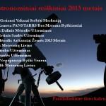 2013 metų astronominių reiškinių kalendorius