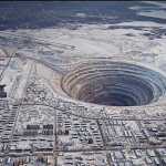 Pasaulinė deimantų kasykla Sibire