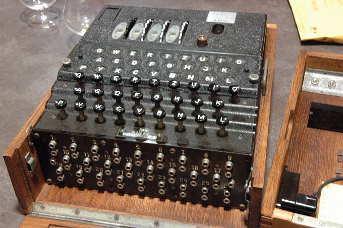 Enigma – vokiečių šifravimo mašina