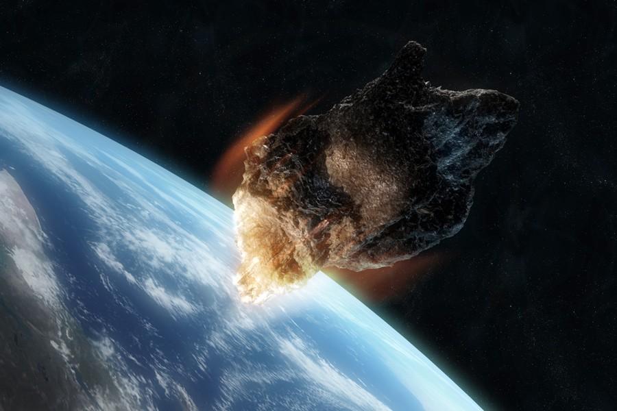 Atominės bombos sprogimui prilygstantys asteroidai į Žemę trenkiasi du kartus per metus
