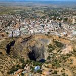 Deimantų kasykla Pietų Afrikoje