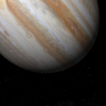 Šią savaitę plika akimi matomas Jupiteris bus ryškiausias per 12 metų