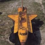 Kosminis laivas iš degtukų