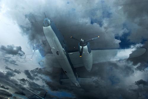 Didžiosios Britanijos nacionaliniame parke stebimi lėktuvai vaiduokliai