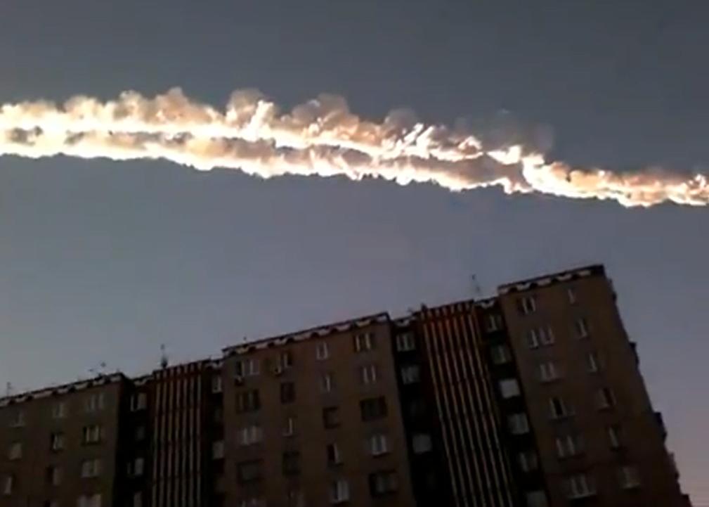 meteoritas rusijoje