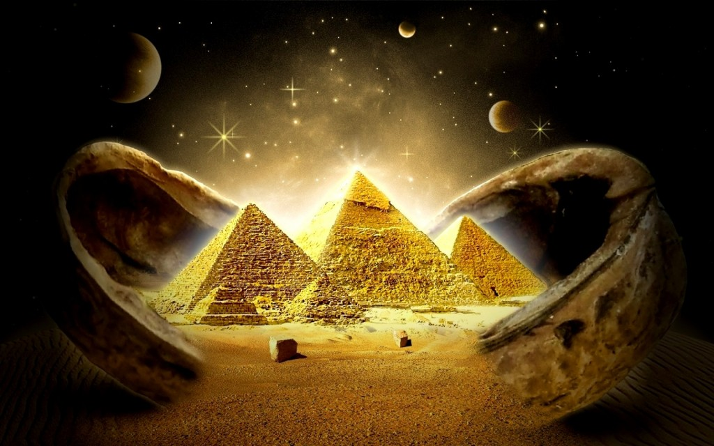 Dar vienas bandymas įminti Egipto piramidžių paslaptis