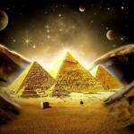 Kas egiptiečiams pastatė piramides?
