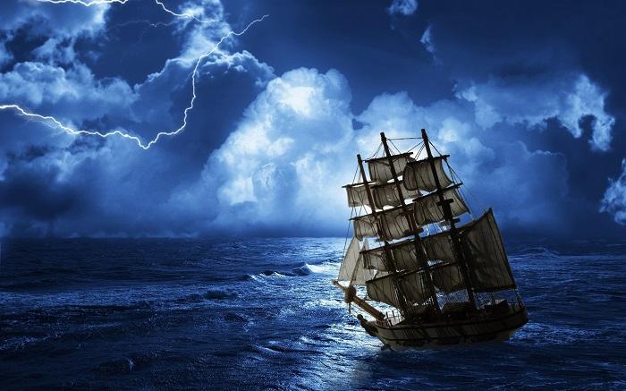 laivas vaiduoklis pradinges 3 metus