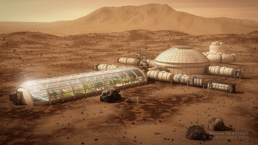 Kaip žmogus turės gyventi Marse?