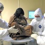 Atšildyta 500 metų senumo mumija