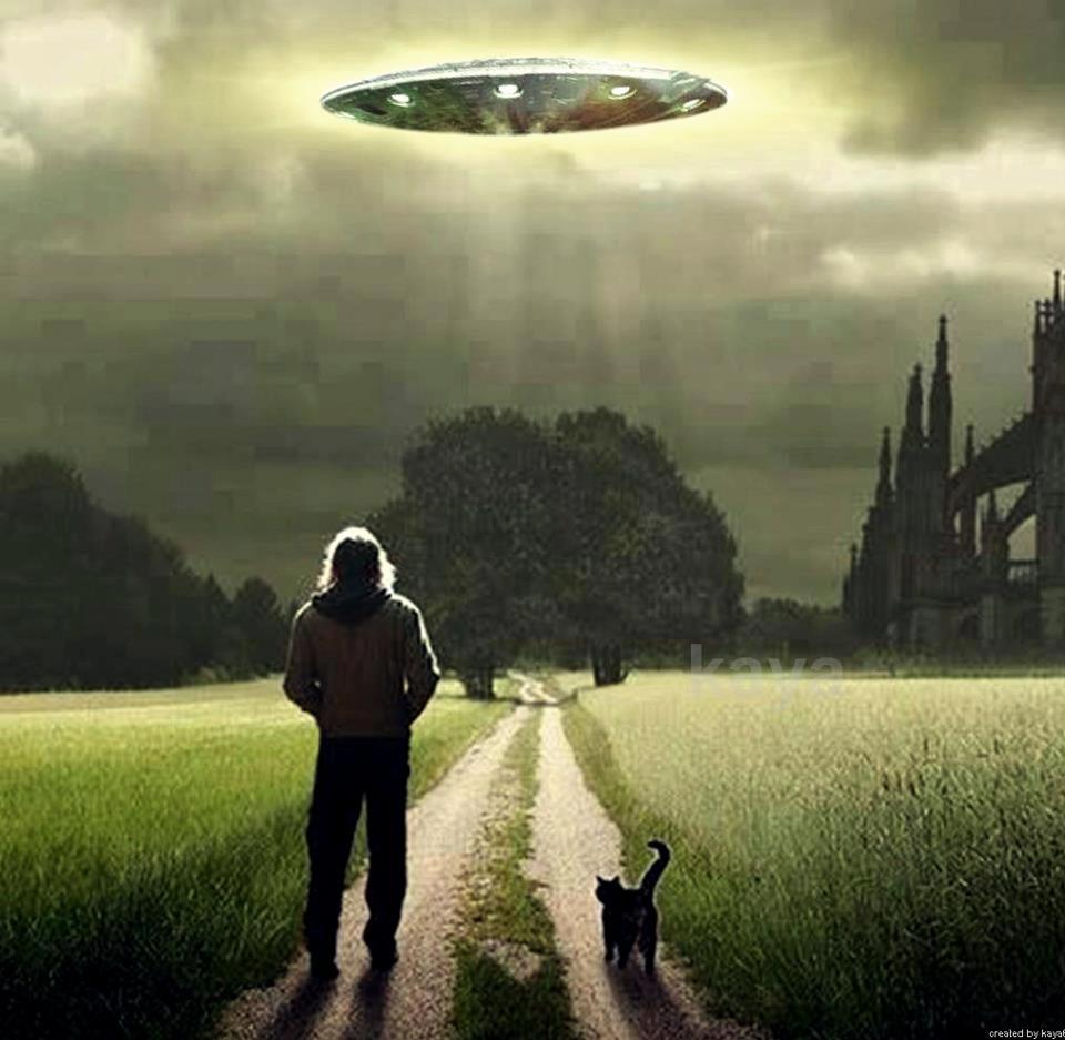 Netikėtas susitikimas su nežemiškos kilmės būtybe