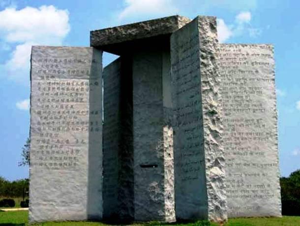 Akmenys su įsakais Georgia valstijoje