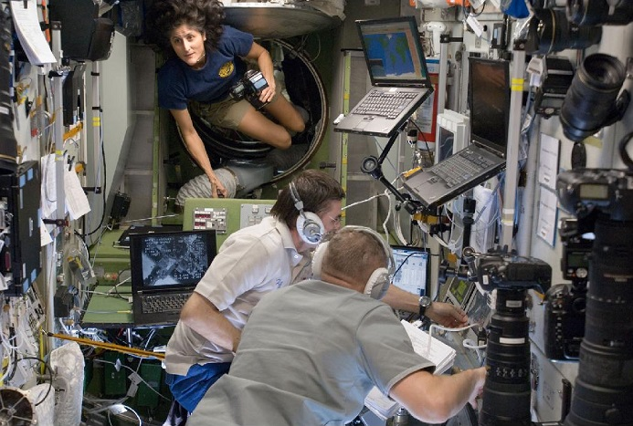 Įdomiausių užsiėmimų kosmose dešimtukas