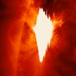 Saulėje įvyko stiprus žybsnis, nukreiptas į Žemę