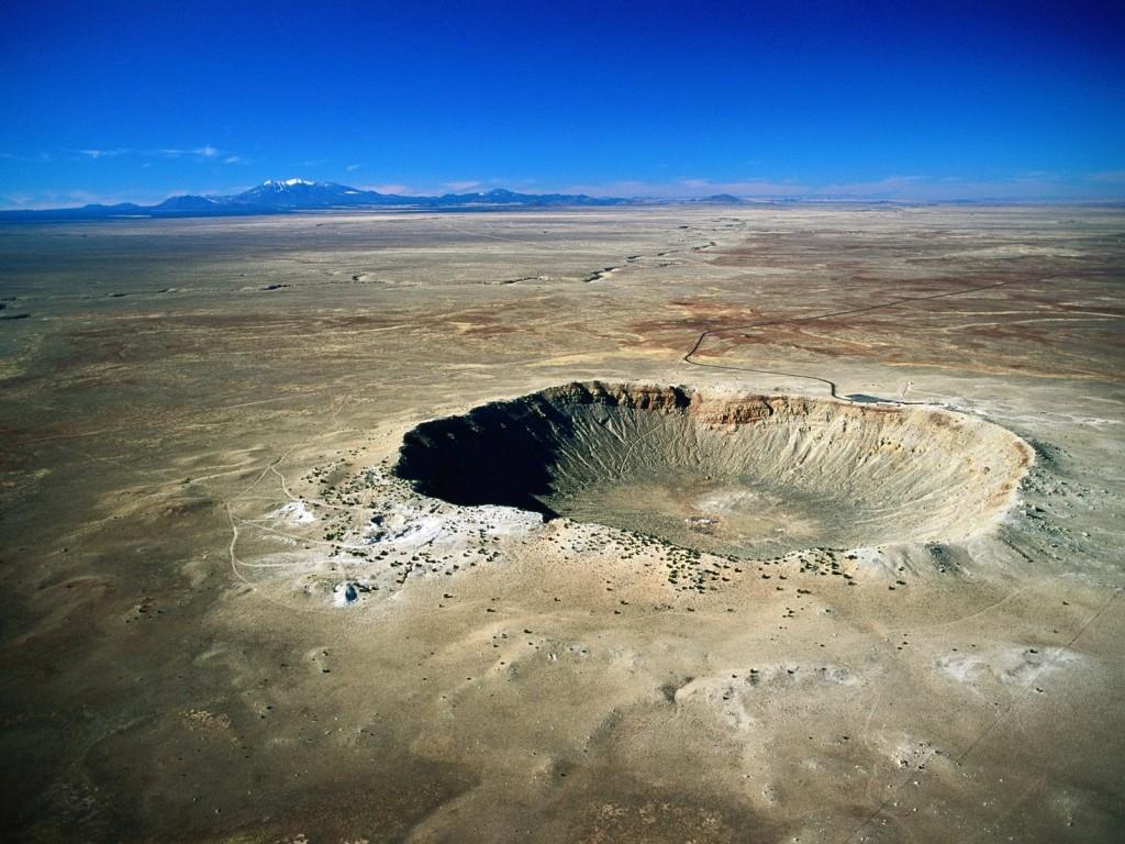 arizonos meteorito krateris