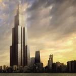 Kinijoje per 90 dienų iškils aukščiausias pasaulyje dangoraižis