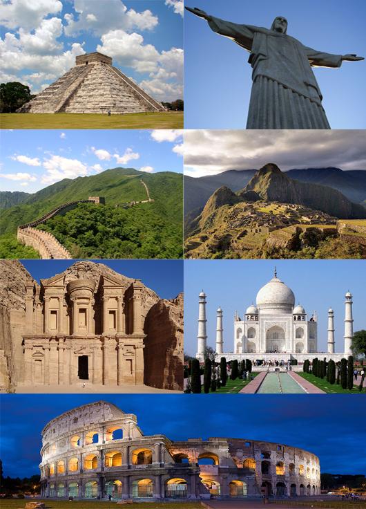 7 naujausi pasaulio stebuklai