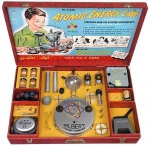 Radioaktyvus žaislų rinkinys