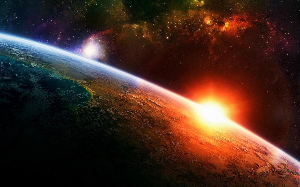 kosmosas visata