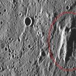Merkurijaus paviršiuje pastebėtas žmogų primenantis siluetas