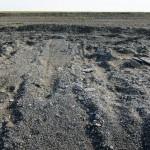 Prie ežero Mongolijoje atsirandantys milžiniški pėdsakai – mįslė mokslininkams