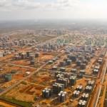 Apleistas šiuolaikinis miestas Angoloje