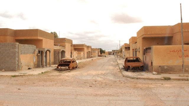Taverga, Libija apleistas miestas 2