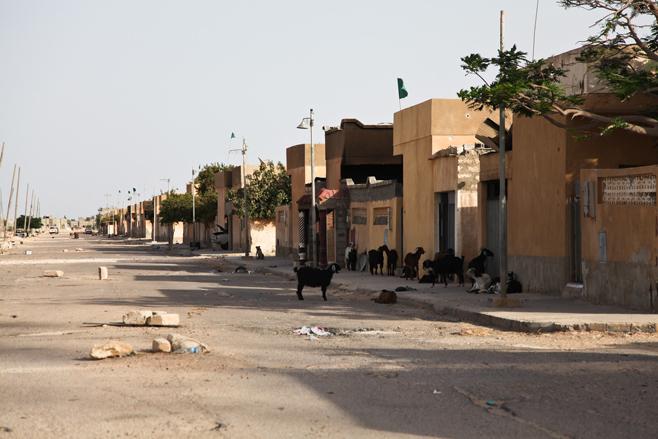 Taverga, Libija apleistas miestas 3