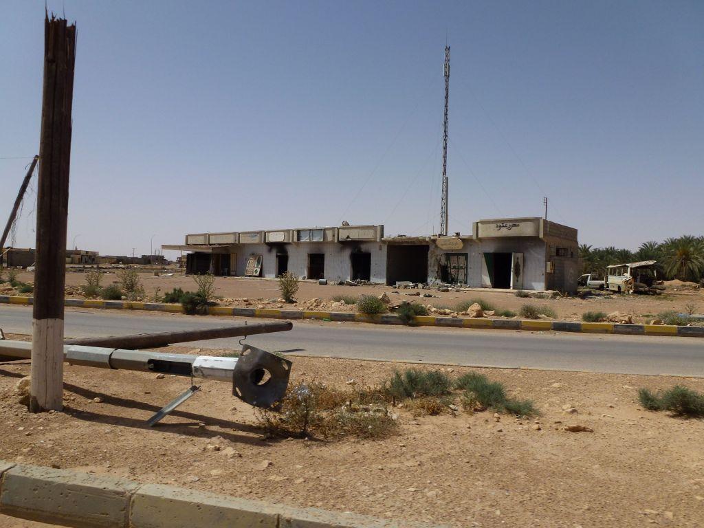 Taverga, Libija apleistas miestas 5