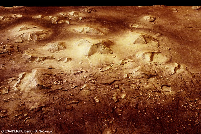 Marse gyveno protingos būtybės